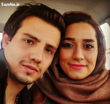 امیر کاظمی ,عکس امیر کاظمی و همسرش ,امیر کاظمی و مهتاب محسنی