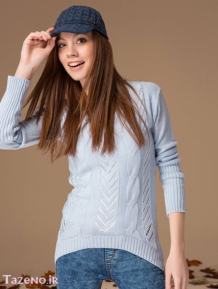 طرح های جدید لباس بافتنی زنانه و دخترانه