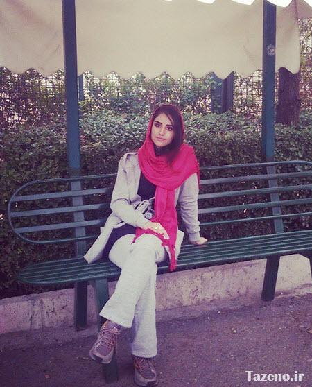 هانیه غلامی ,  عکس جدید هانیه غلامی , هانیه غلامی 93
