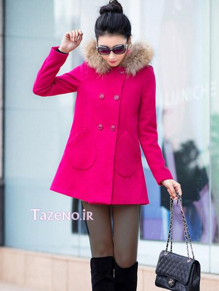 مدل پالتو , پالتو جدید , مدل پالتو 2015 , مدل پالتو دخترانه