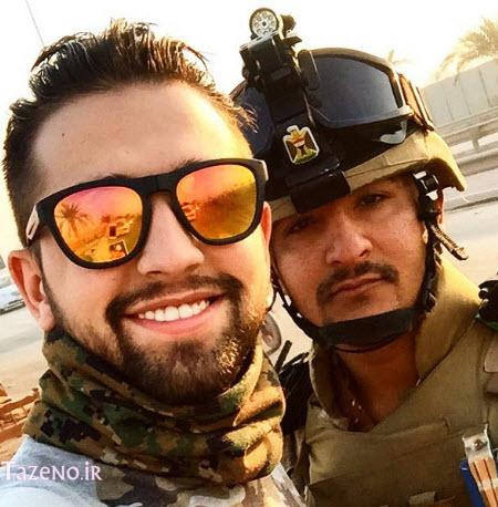 محسن افشانی , عکس جدید محسن افشانی , محسن افشانی در کربلا
