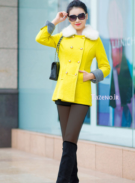 مدل پالتو جدید , مدل پالتو شیک , مدل پالتو دخترانه , پالتو کره ایی, مدل پالتو 2015