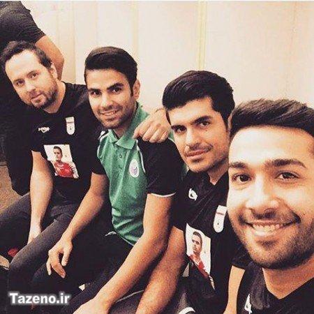حسین مهری,اینستاگرام حسین مهری ,عکس حسین مهری