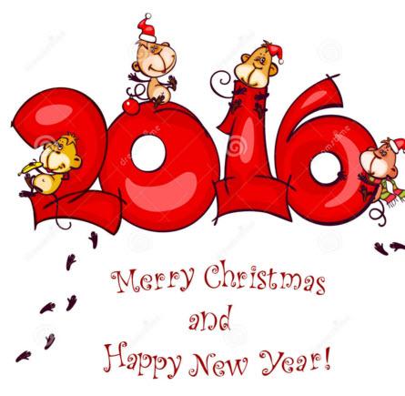 کریسمس 2016 ,کارت پستال کریسمس 2016,سال میلادی 2016