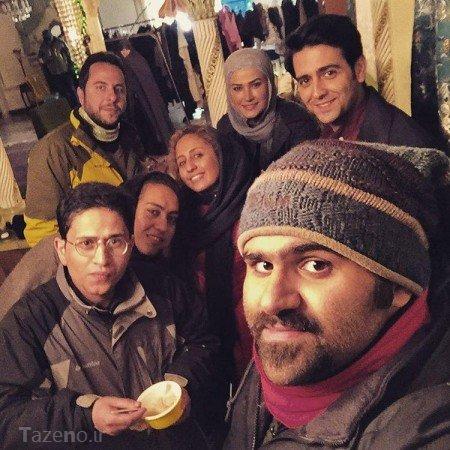 سریال پریا ,عکس های پشت صحنه سریال پریا,عکس بازیگران سریال پریا