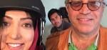 عکس های دیده نشده نگار عابدی بازیگر نقش افروز در پشت صحنه پادری