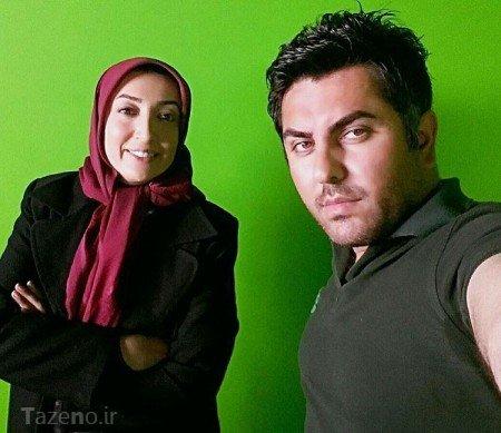 نگار عابدی,عکس دیده نشده نگار عابدی ,نگار عابدی در پشت صحنه سریال پادری,نگار عابدی بازیگر نقش افروز سریال پادری