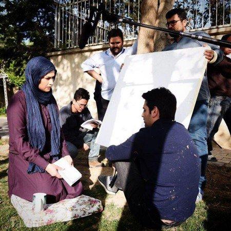 سریال پریا,بازیگران سریال پریا ,عکس های پشت صحنه سریال پریا,عکس های دیده نشده پشت صحنه سریال پریا,زمان پخش سریال پریا