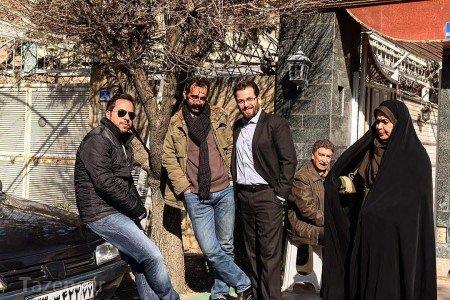 سریال پریا,بازیگران سریال پریا,عکس های دیده نشده سریال پریا,عکس های پشت صحنه سریال پریا